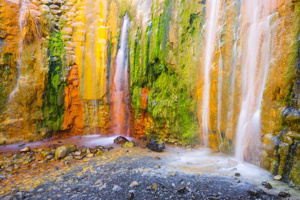 Cascada de Colores de La Palma