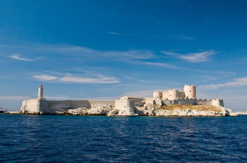 Castillo de If en un recorrido por Marsella