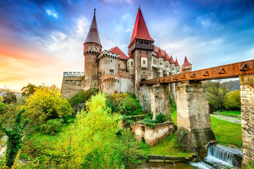 Castillo Hunyad en Transilvania