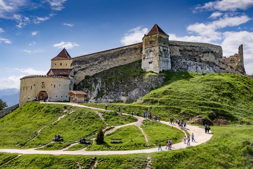 Castillo de Rasnov en Transilvania