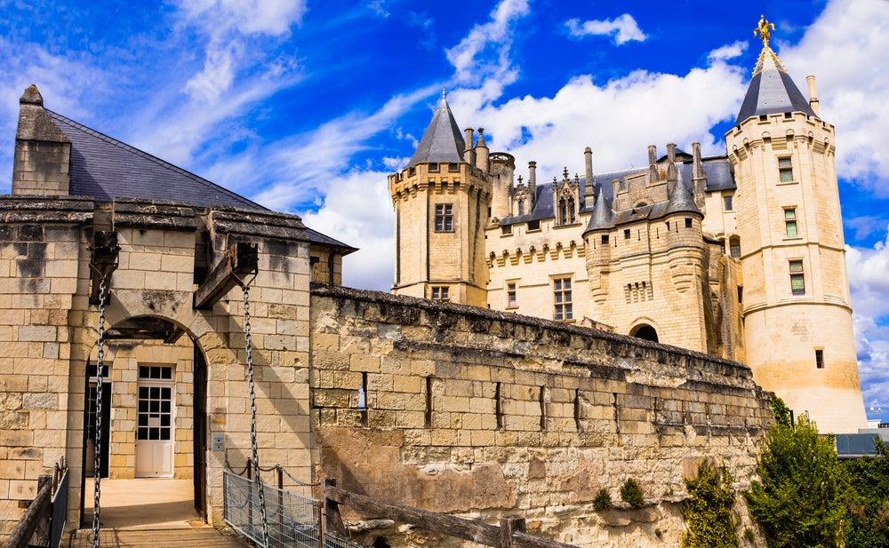 Castillo de Saumur en Francia