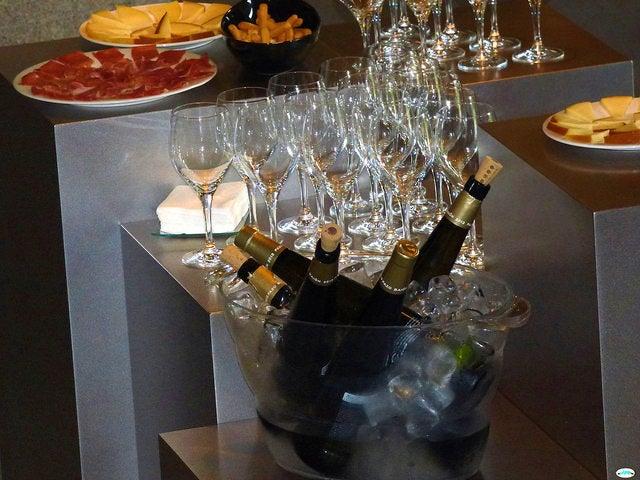 Cata de vino de Albariño
