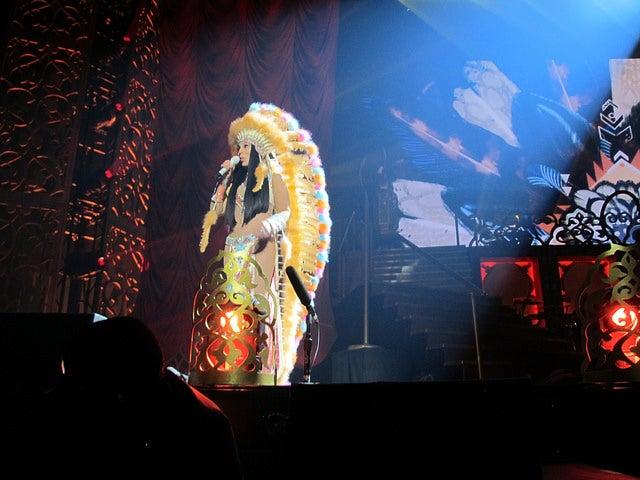 Espectáculo de Cher en Las Vegas