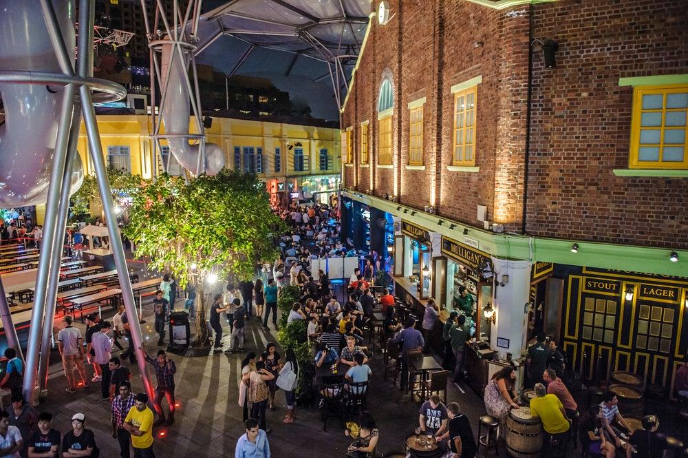 Restaurantes en Clarke Quay