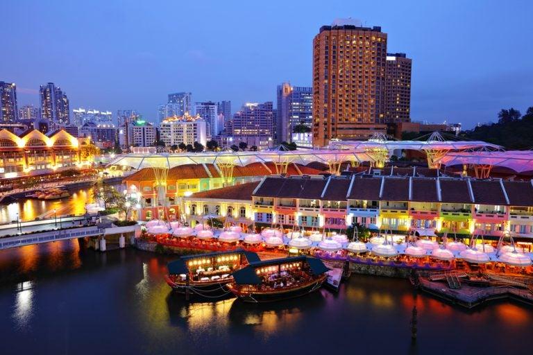 Clarke Quay, visitamos la zona de ocio de Singapur