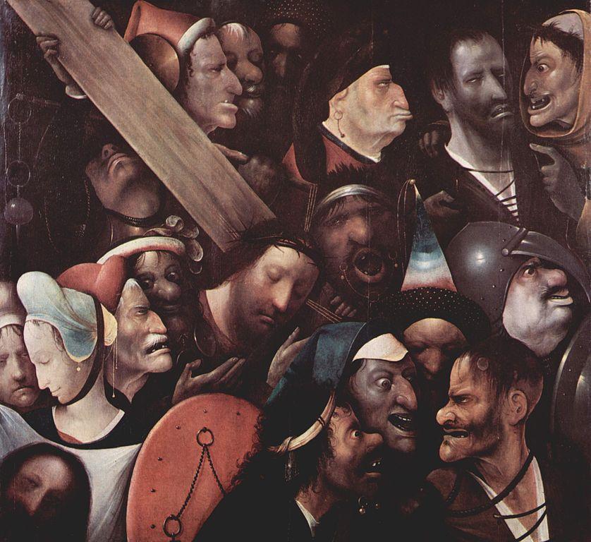 Cristo llevando la Cruz de El Bosco