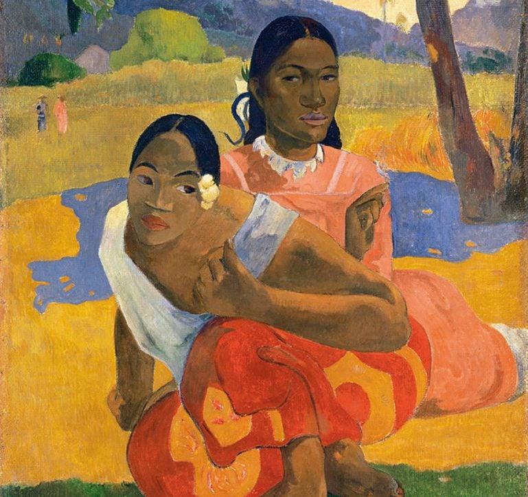 Cuándo te casas de Gauguin