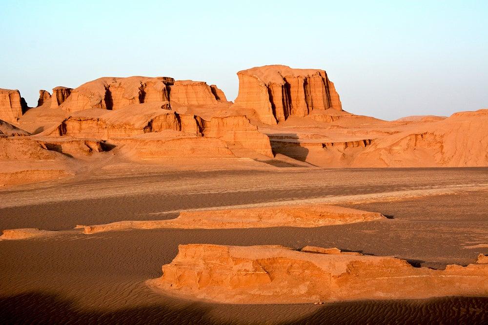 Desierto de Lut, uno de los desiertos que merece la pena visitar