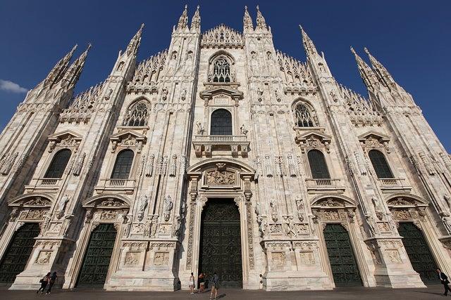 Fachada del Duomo de Milán