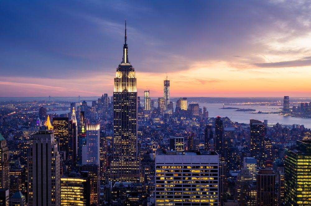 Empire State por la noche