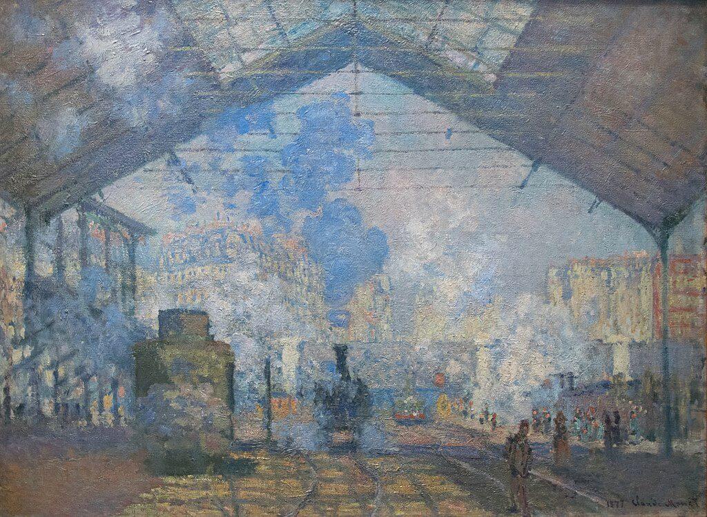 """""""Estación de San Lázaro"""" de Monet"""