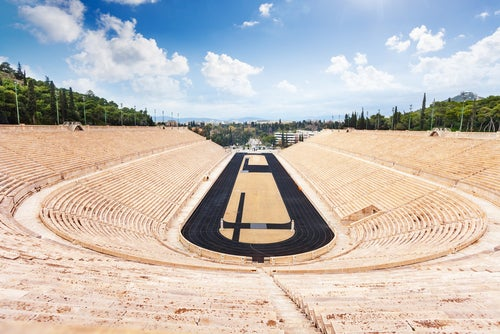 Estadio Panatenaico en Atenas