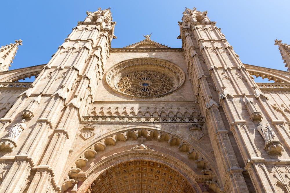 Fachada de la catedral de Palma de Mallorca