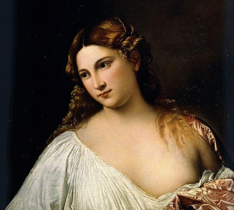 Flora de Tiziano