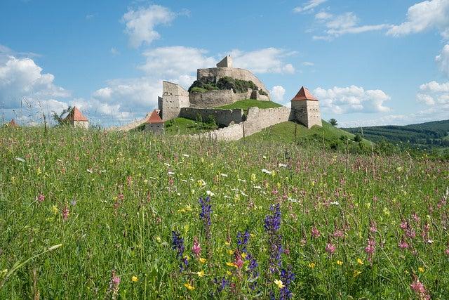 Fortaleza de Rupea en Transilvania
