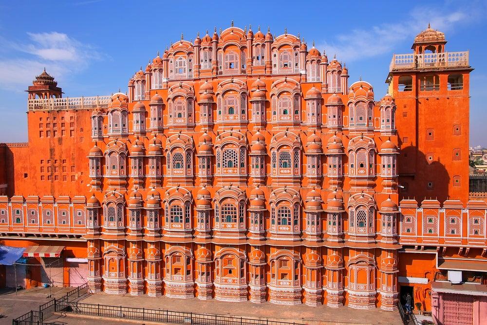 El Hawa Mahal: el bello Palacio de los Vientos de Jaipur