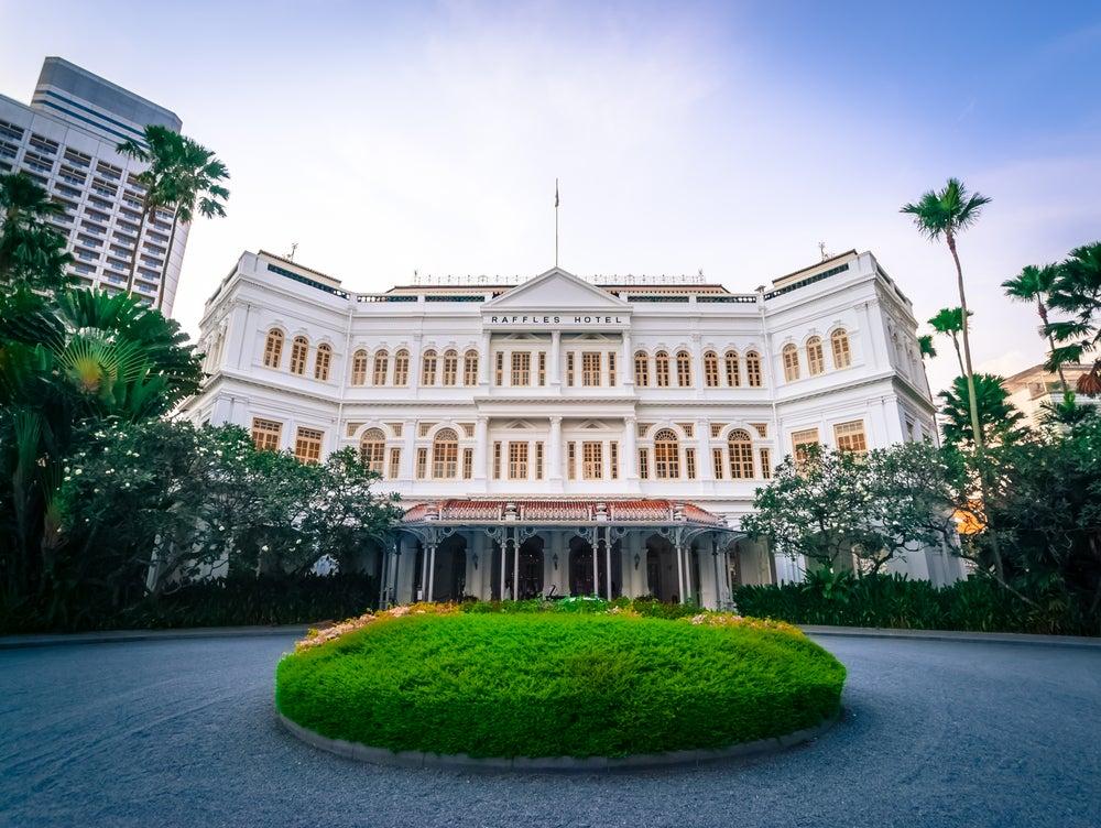 Hotel Raffles, una parada obligatoria en Singapur