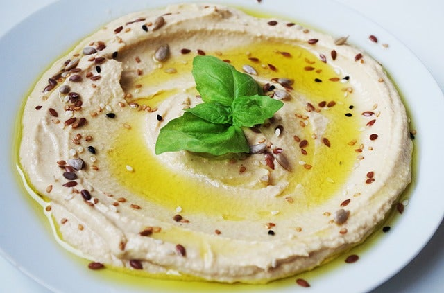 Hummus uno de los platos orientales más famosos