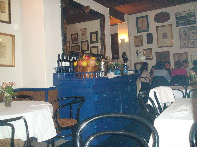 Interior del restaurante Sacha
