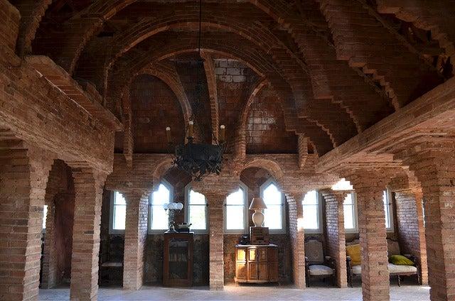 Interior de la torre Bellesguard