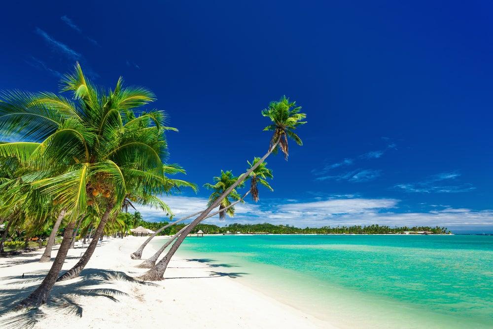 Islas Fjii en el Pacífico