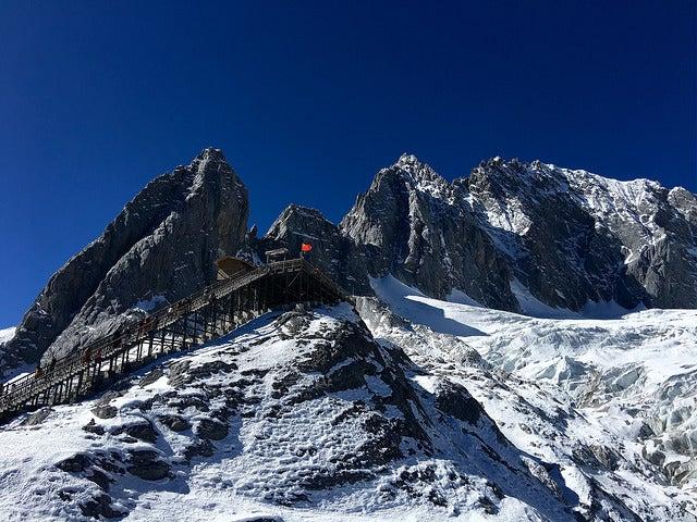 Jade Dragon Snow Mountain, una de las estaciones de esquí más altas del mundo