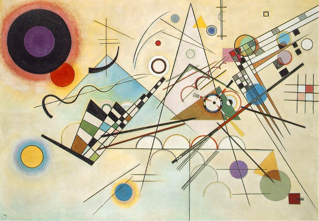 Composición 8 de Wassily Kandinsky
