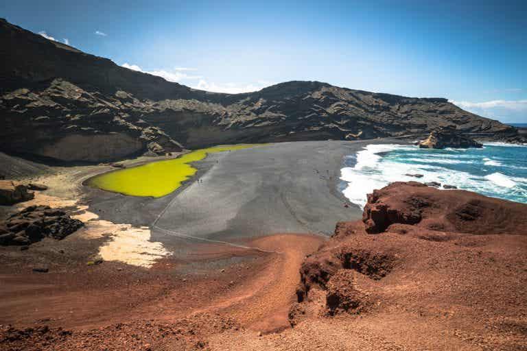 El Lago Verde de Lanzarote, un lugar muy singular