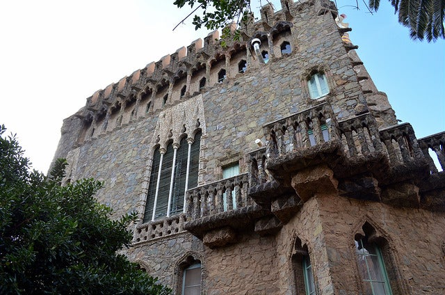 Lateral de la Torre Bellesguard