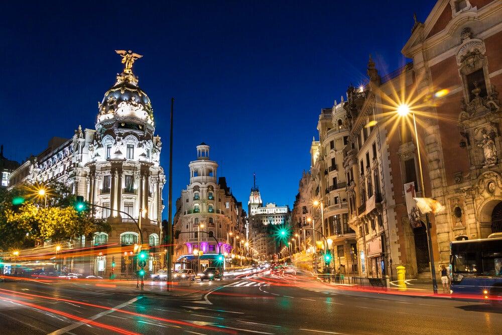 Descubre Madrid de noche, un lugar mágico