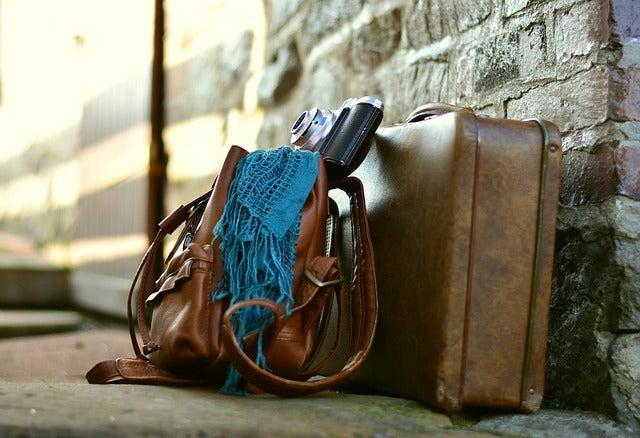 Bolso y maleta