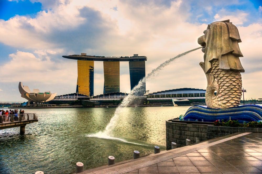 Marina Bay, uno de los lugares de Singapur