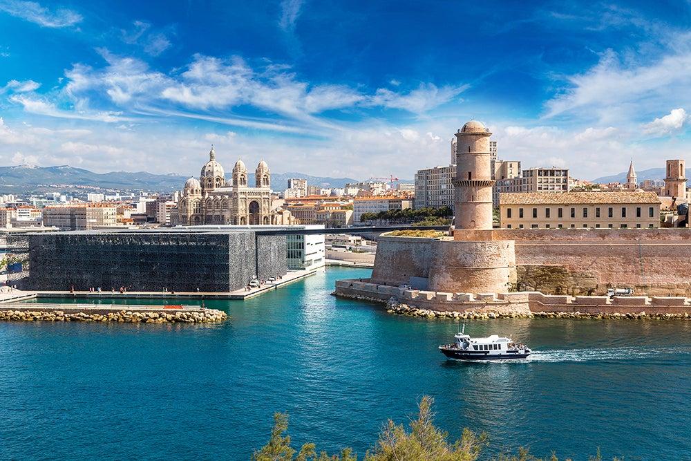 Vieux Port y MUCEM en Marsella