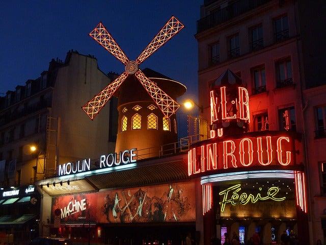 Molin Rouge en París