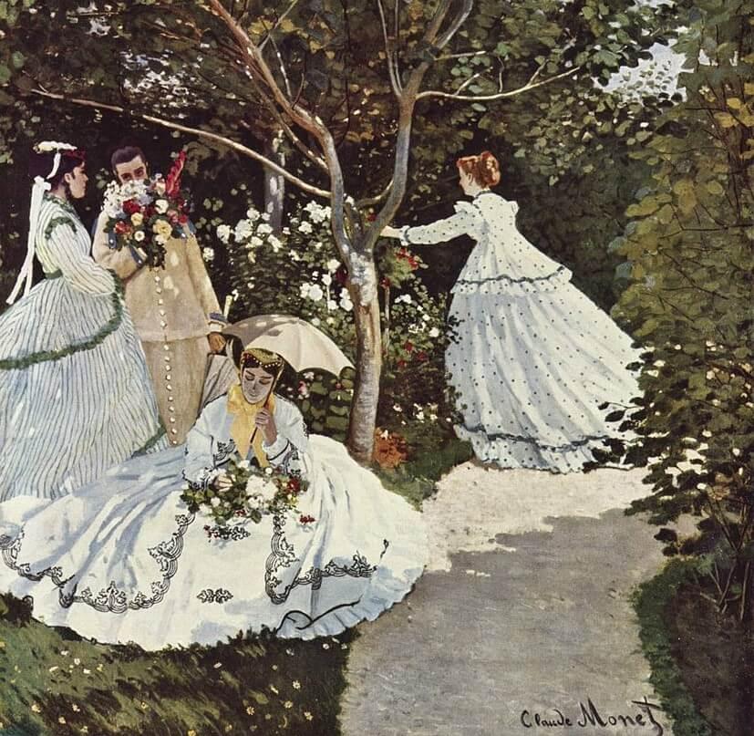 """""""Mujeres en el jardín"""" de Monet"""