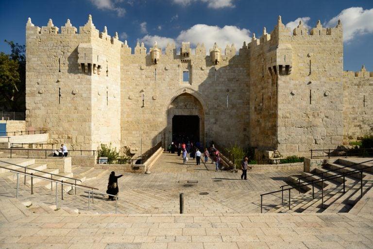 Historia de la Puerta de Damasco en Jerusalén