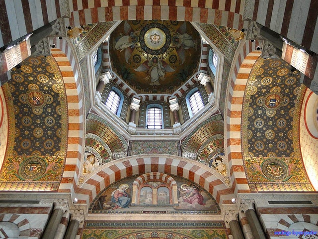 Notre Dame de la Garde en Marsella