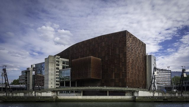 Palacio Euskalduna en Bilbao