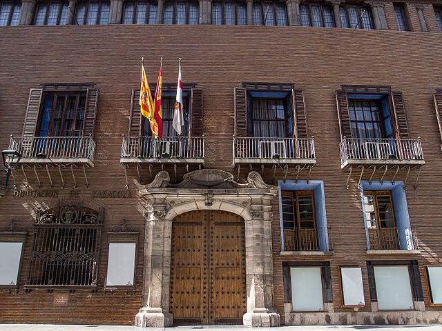 Palacio de Sástago en Zaragoza