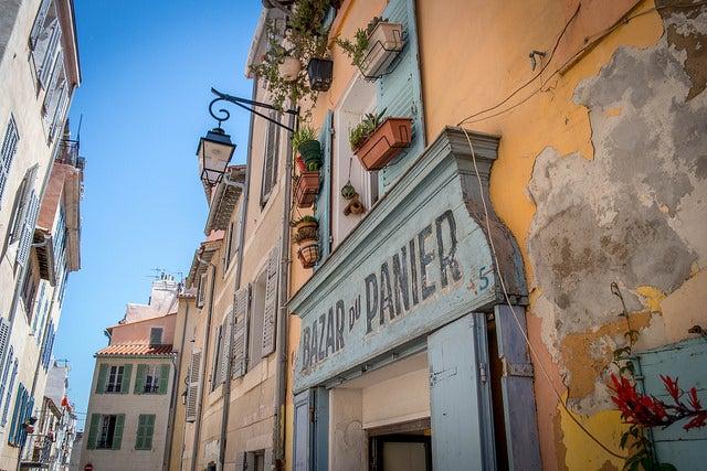 Barrio de Le Panier en Marsella