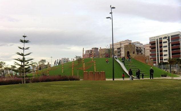 Parque de las Familias en Almería