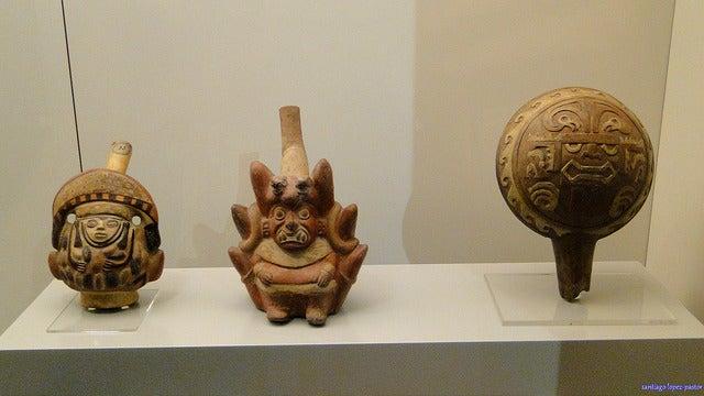 Piezas del Museo de América de Madrid