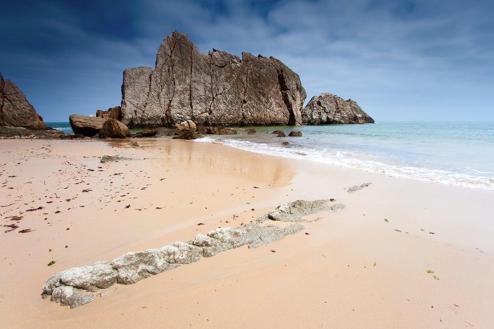 Playa de La Arnía en Liencres