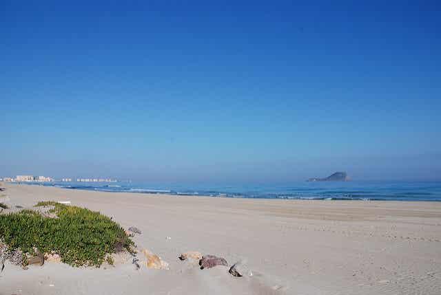 Disfrutamos de las playas de La Manga en Murcia