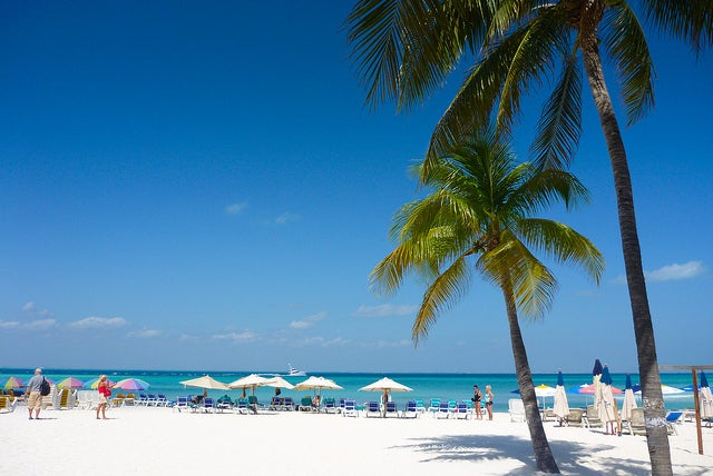 Playa Norte en Cacún