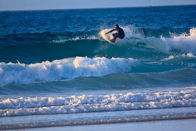 Playa Razo en Galicia