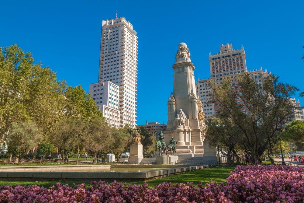 Paseamos por la Plaza de España de Madrid