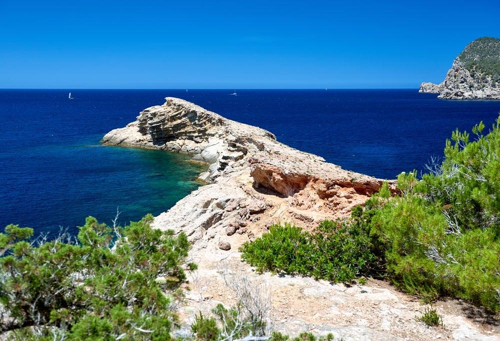 Punta Galera, un precioso rincón de la isla de Ibiza