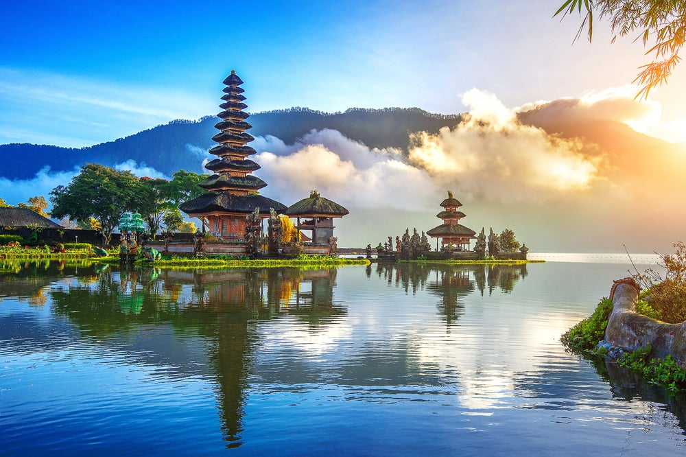 Pura Ulun Danu, uno de los templos en los que disfrutar en Bali