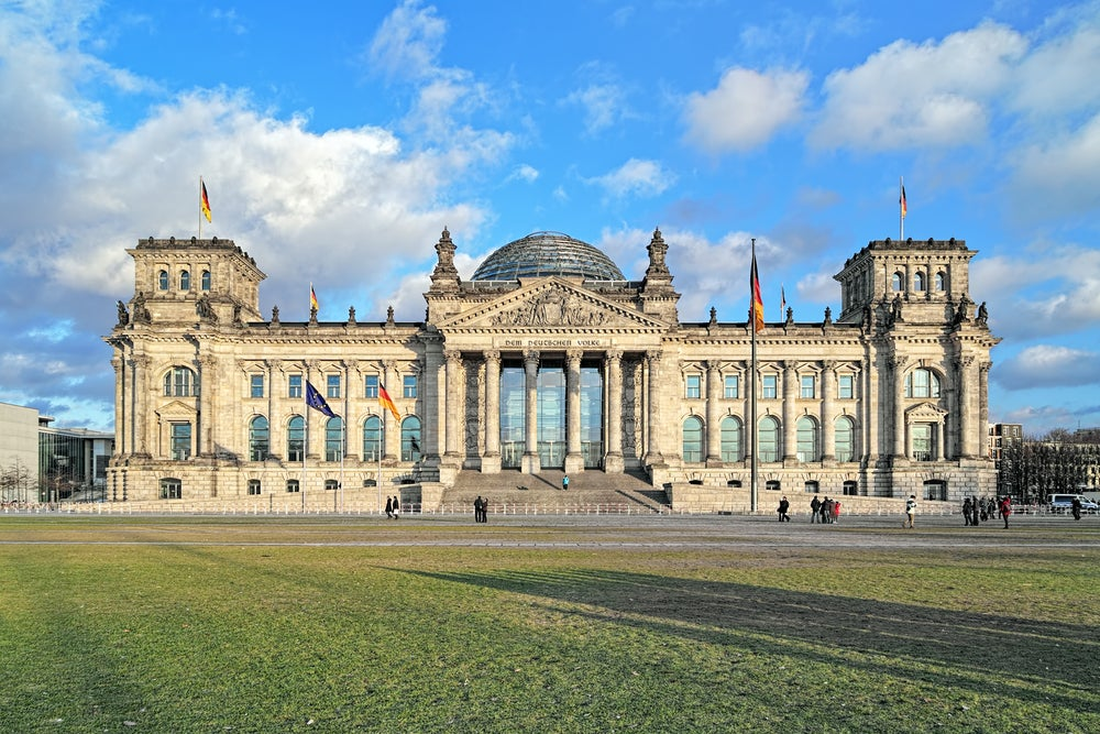 Reichstag en los alrededores de la Puerta de Brandenburgo